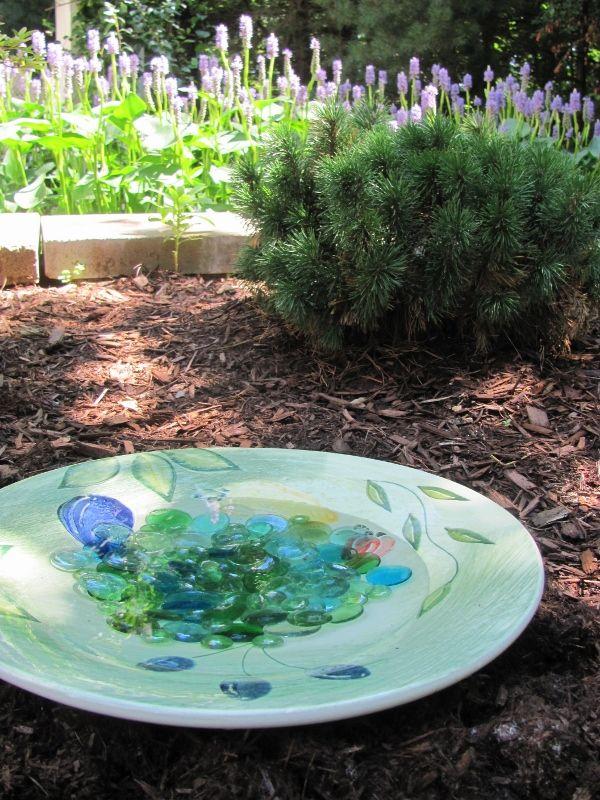 13 best images about bird bath ideas on pinterest garden for Salt bath for fish