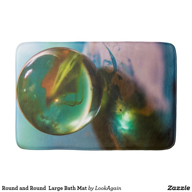 Round and Round  Large Bath Ma#RoundandRound #round #marbles #marble #LookAgain #originalphotography