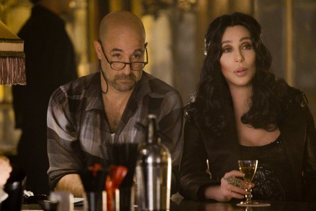 I love Stanley Tucci and Cher in Burlesque!  They were such a great match in this film!