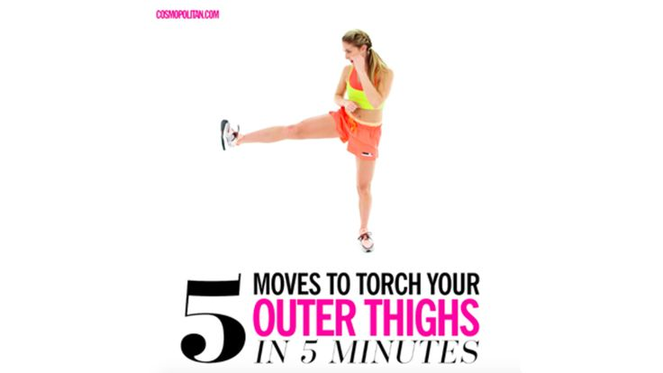 Outer Thighs Workout: 5 Moves to Torch your Outer Thighs in 5 Minutes with Alex Silver-Fagan