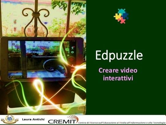 Laura+Antichi:+Edpuzzle,+creare+video+interattivi,+tutorial