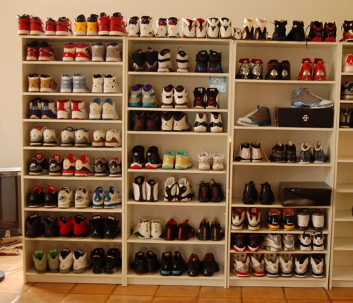 Nice storage of trainers. Perfect.