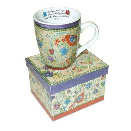 Psalm 9:1 Mug with Gift Box