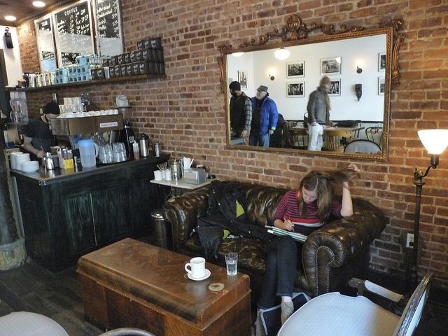 Lenox Coffee | W 129th St Harlem, via Flickr.