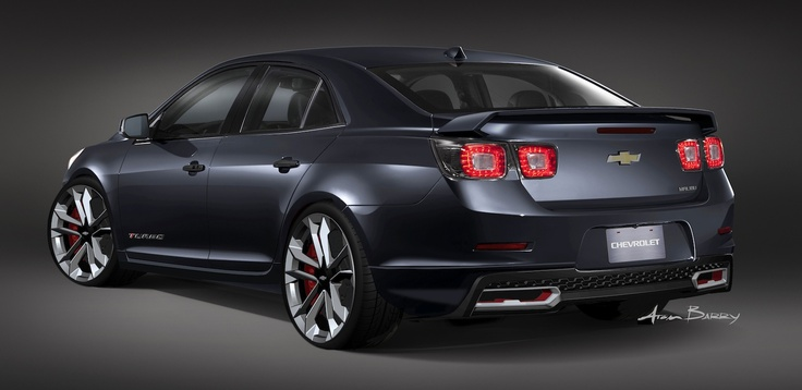 2014 Chevy Malibu Turbo Performance Concept