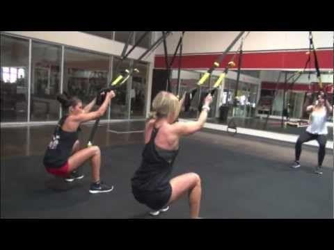 Camp Hero Leg Training Part 1:  TRX Squat variations