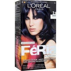 L'Oréal Paris Féria by Préférence 2.1 Blå-Svart