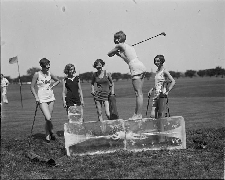 Golf retro zapatos vintage