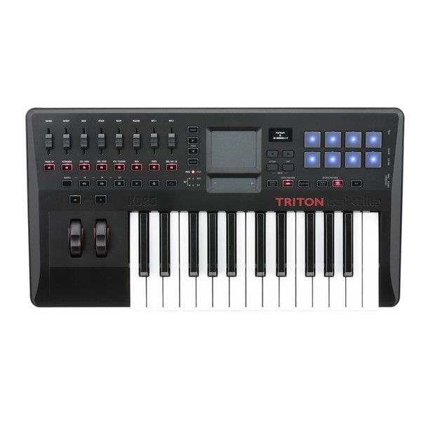 Korg TRITON Taktile-25 25 Key Controller Keyboard with Triton Sounds at Gear4Music.com