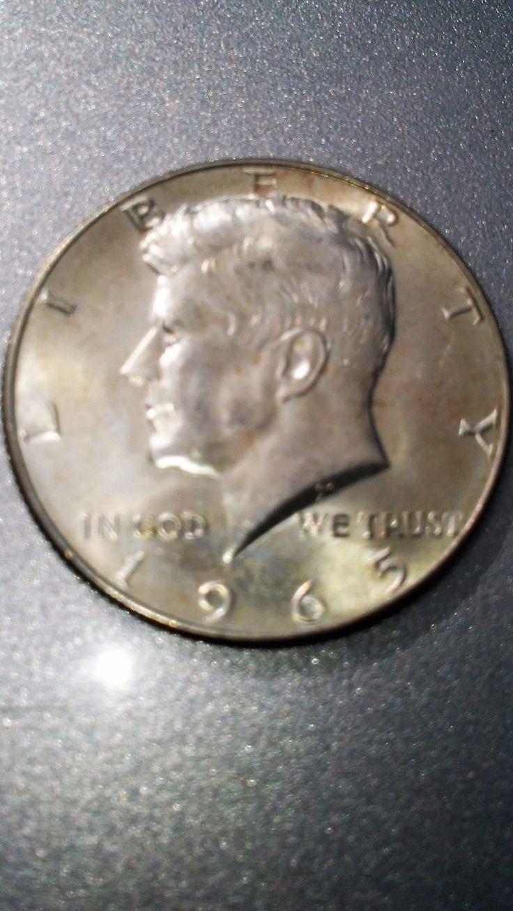 1965 Kennedy Half Dollar Fine (circulated)
