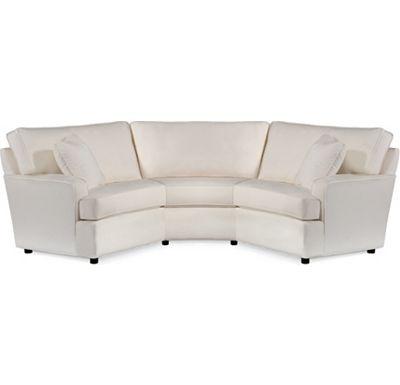 Wedge Sofa Sectional 3 Piece Sectional Sofa Glorema Thesofa