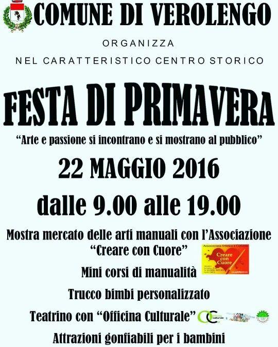 #Verolengo 22 Maggio 2016 FESTA DI PRIMAVERA