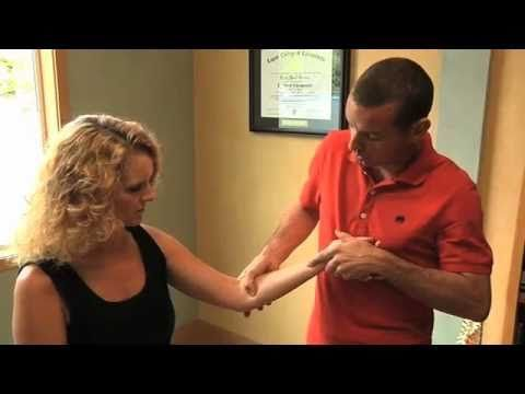 Dr. Brian Gervais demonstrating Active Release Technique (ART) - Carpal Tunnel Syndrome
