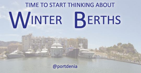 Why Port Denia is the ideal Port for Superyacht Winter Berths