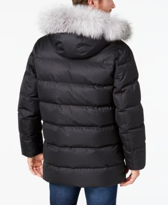 Andrew Marc Men's Alaska Parka - Black 2XL