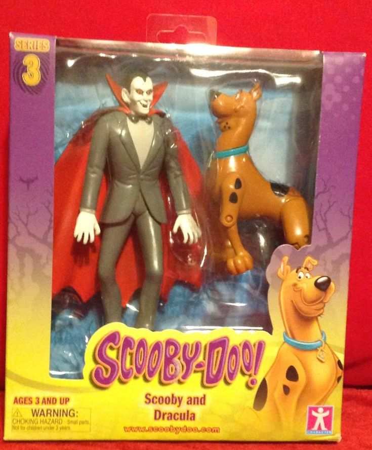 Scooby Doo! Series 3 Scooby and Dracula Action Figure 2 Pack MISB  #ScoobyDoo