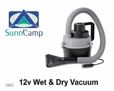Sunncamp 12v Wet and dry portable camping tent cleaner vacuum 100099 �14.99
