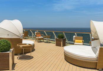 #MediterraneanLifestyle Point Contract furniture Solarium - Crucero Monarch Pullmantur / Instalaciones Point en Solarium - Crucero Monarch Pullmantur.