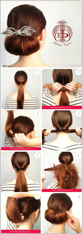 Peinados fáciles para que lo hagas vos misma!!! Christian Diaz by. Belleza Capilar www.bellezacapilar.com.ar