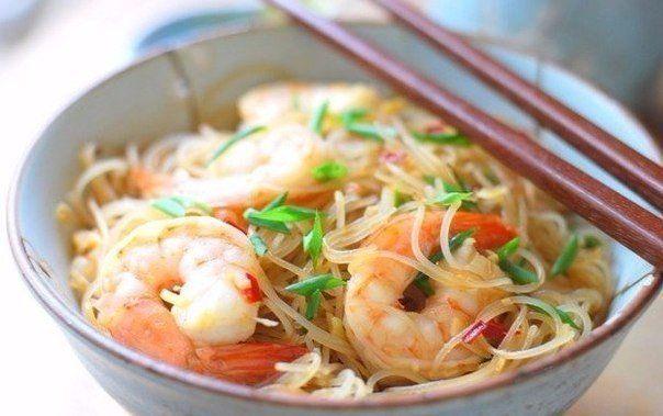 Рисовая лапша: ТОП-5 рецептов приготовления самых вкусных блюд ❤