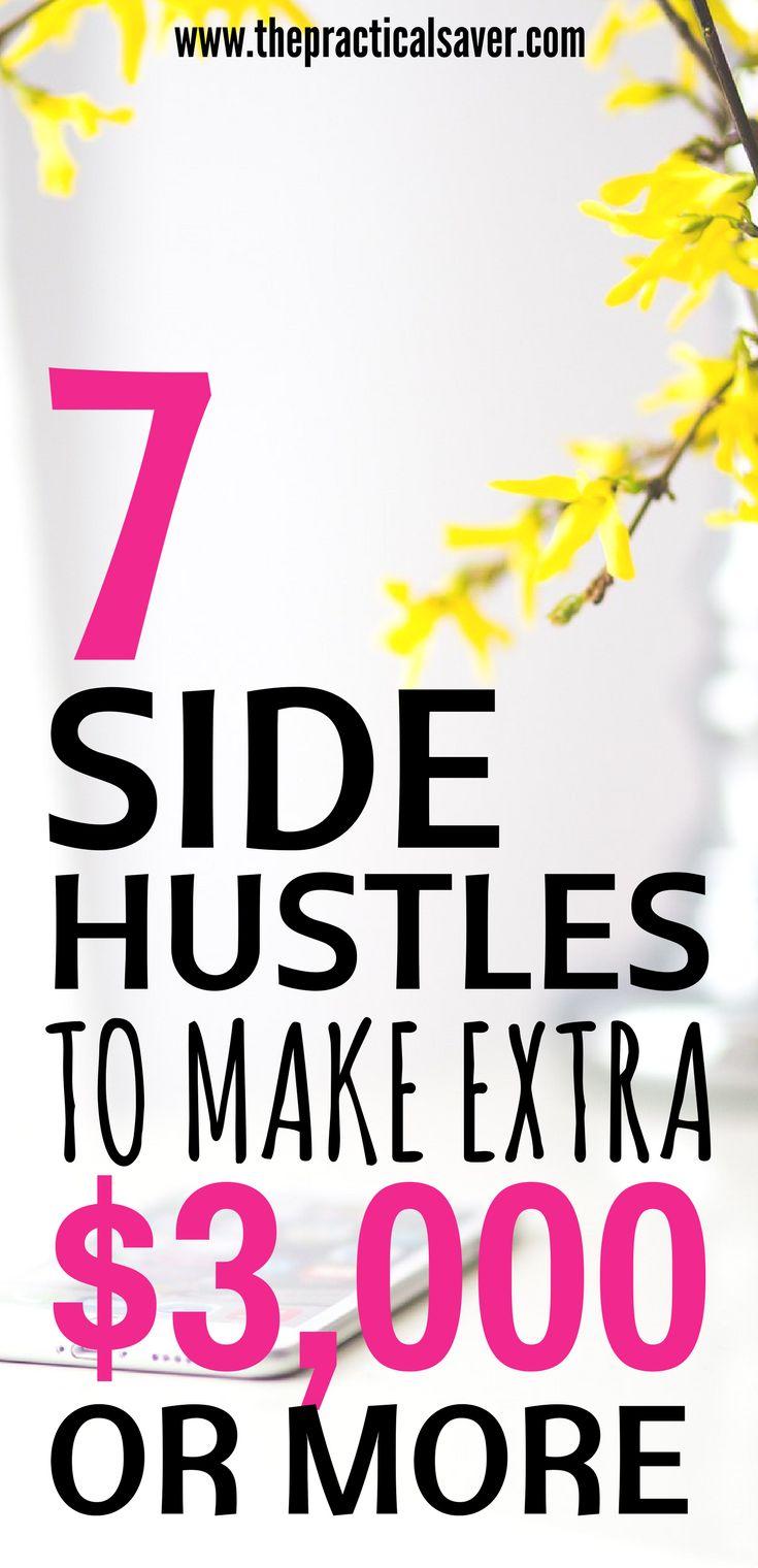 side hustle ideas for extra cash l make money fast at home on the side l blogging for beginners for money l earn extra income ideas from home