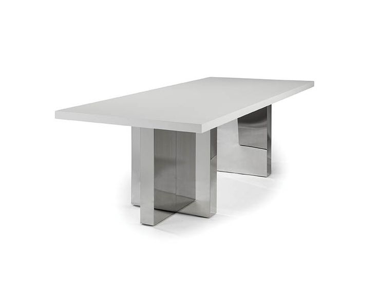 Options Stainless Steel Dining Table By Milo Baughman From Thayer Coggin