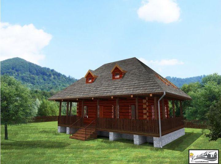 case taranesti peasant houses 4