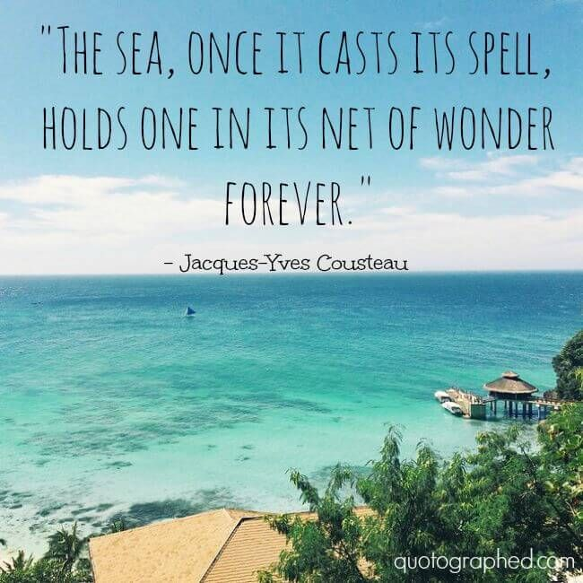 Quotes About Ocean: 17 Best Quotes About The Sea On Pinterest