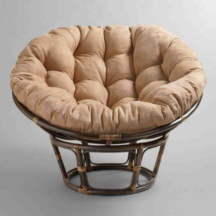 Double papasan cushion replacement papasan chair