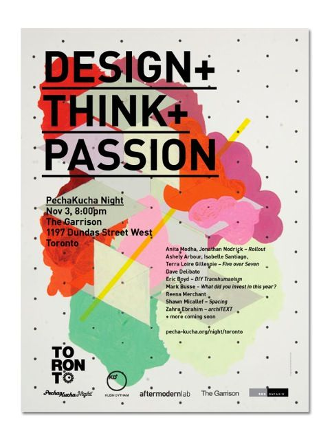Design+Think+Passion  Consider the application of design principles in my current roles and passions