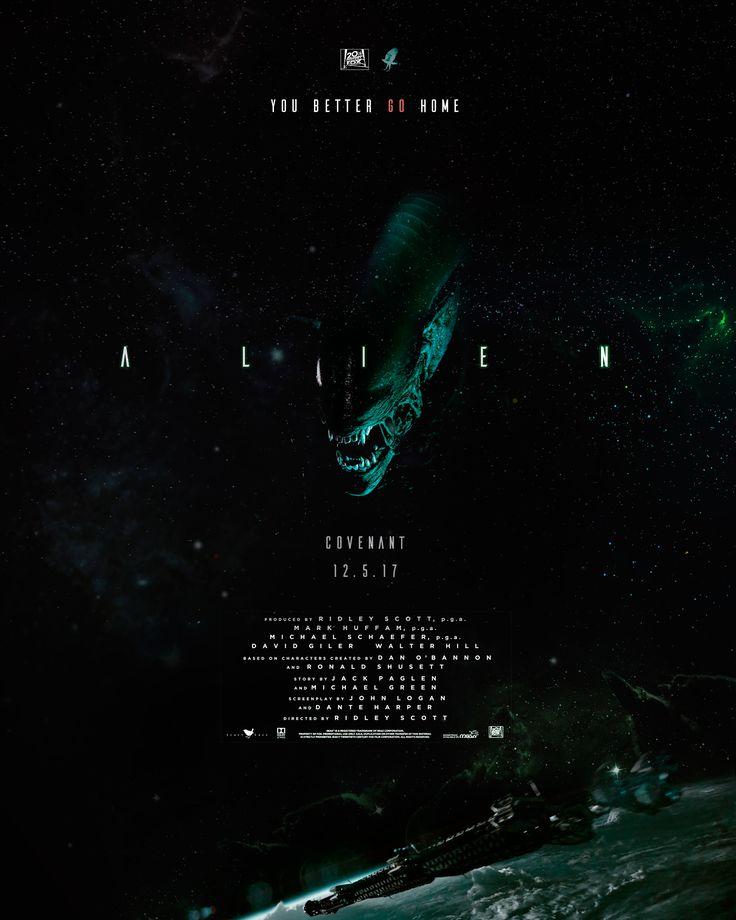 FILM POSTER: ALIEN COVENANT