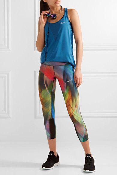 Nike - Zonal Cooling Relay Dri-fit Stretch-mesh Tank - Cobalt blue - x large
