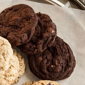 Double Chocolate Cherry Cookies, a recipe from the ATCO Blue Flame Kitchen.
