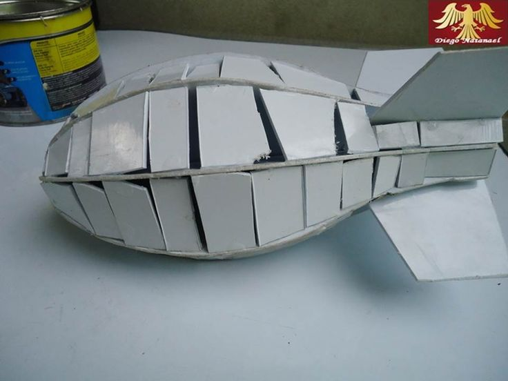 Bomba Atômica FAT MAN - 1/17 - Diego Natanael - Carcaça da estrutura do FAT MAN!