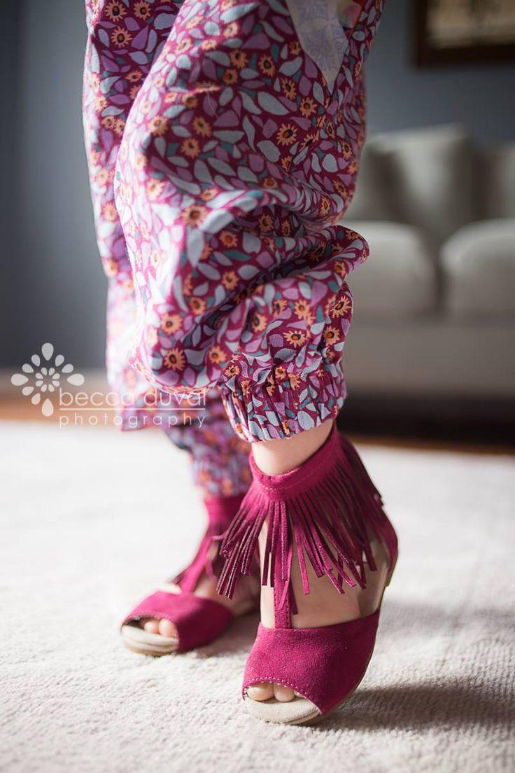 Little Miss Fancy Pants - Girls Harem Pants PDF Pattern