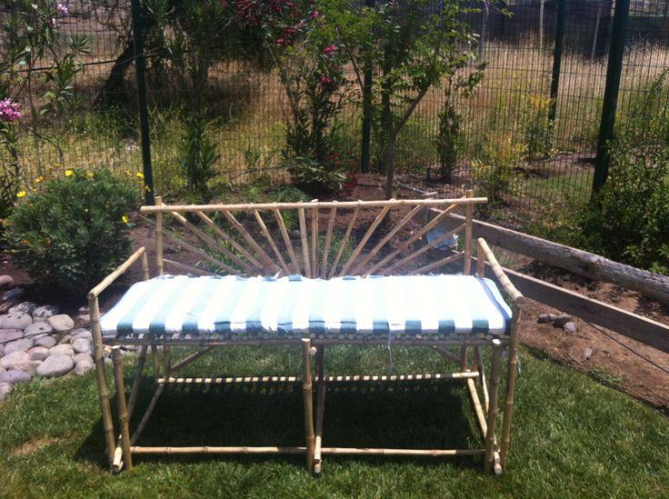 Silla de jardín en colihue