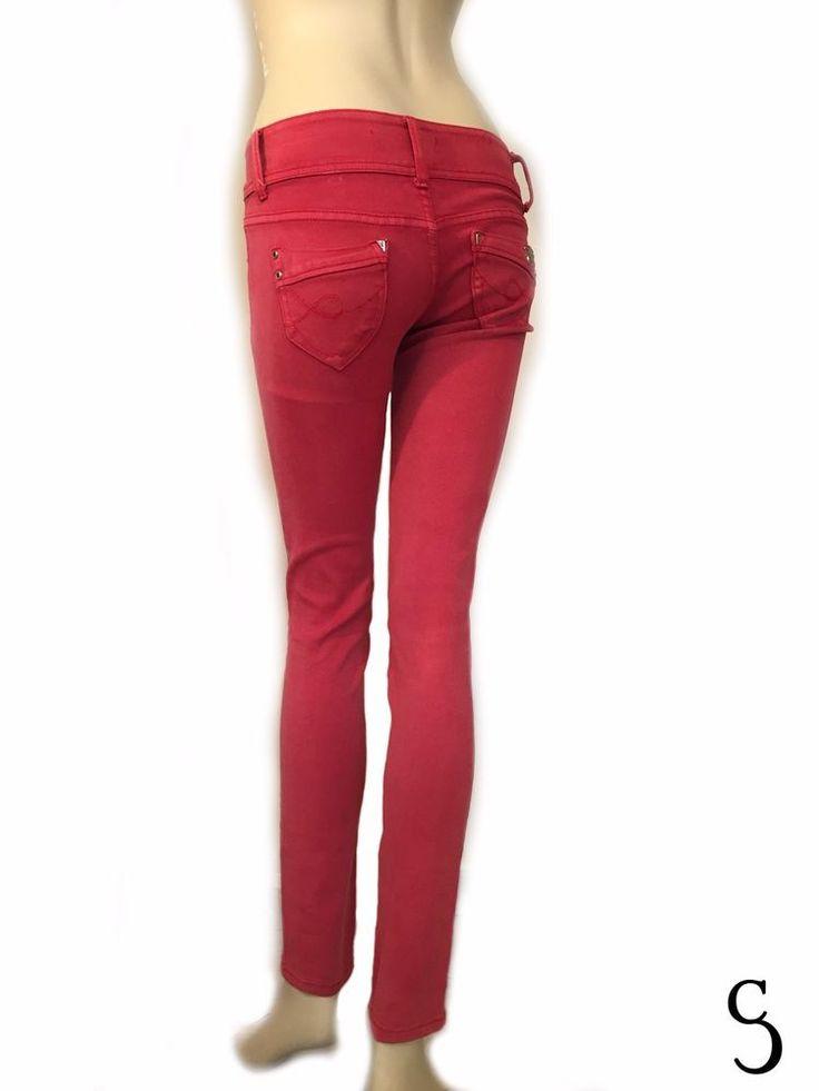 Miss Bon Bon Women Elastic Jean_Size: Small #MissBonBon #CasualPants