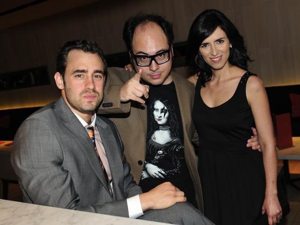 Ariel Levi, Nicolás López and Paz Bascuñan