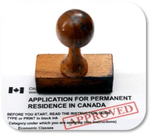Your immigration application approved and stamped!