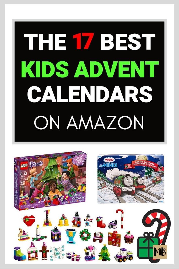 17 Best Advent Calendars For Kids On Amazon In 2019 Advent