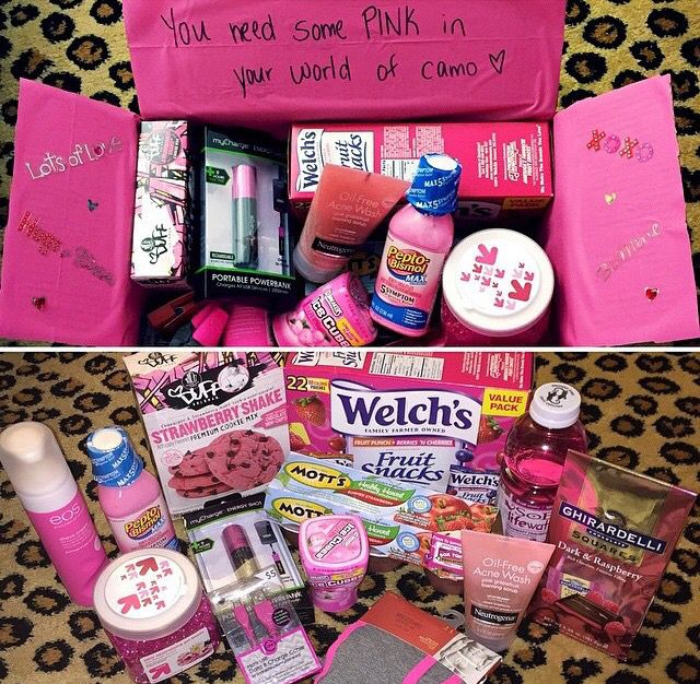 Pin by Sarah Victoria on Care package DIY Gifts, Pink