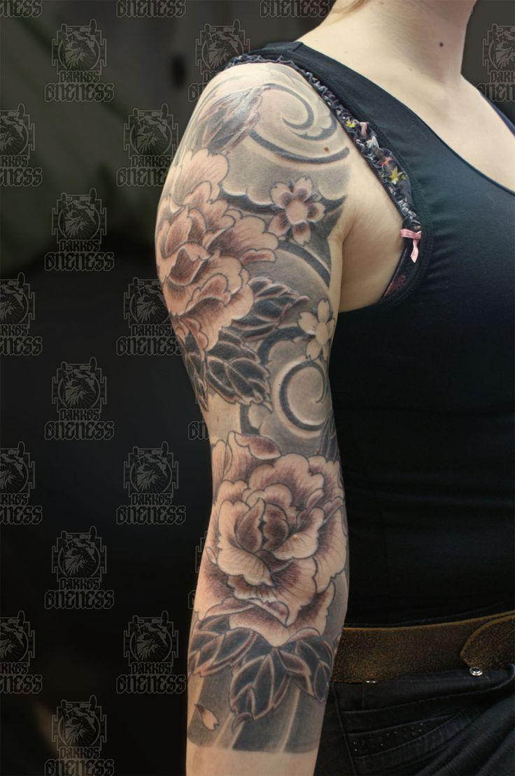 Best 46  Badass sleeve tattoos ideas on Pinterest   Half sleeve ... - Tattoo Sleeve Frau