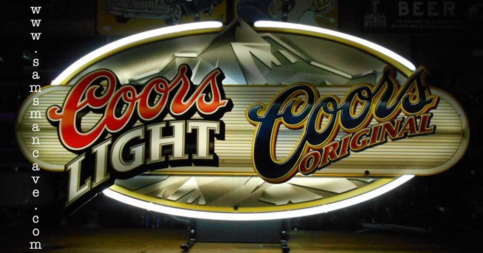 Coors Light Coors Original Neon