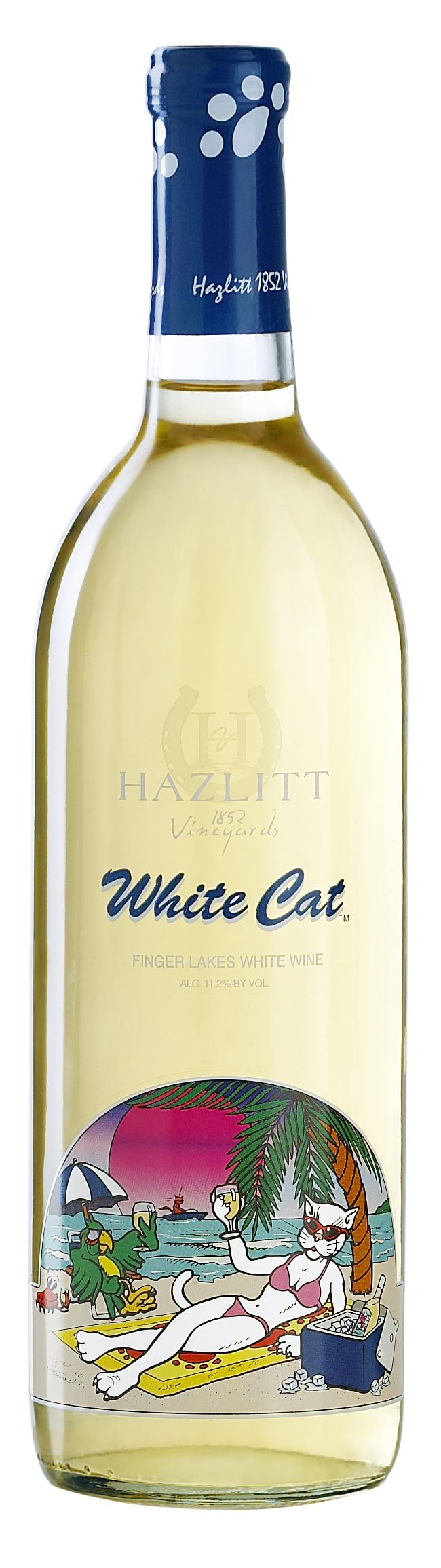 Embrace the taste of warm tropical breezes, invigorating sunshine and relaxation. From the makers of Red Cat, the original hot tub wine, welcome the purr-fect partner, White Cat.