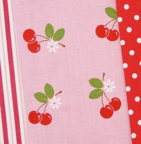 Sew Cherry by Lori Holt for Riley Blake: Cherries Sweetness, Cherry Quilts, Fun Fabrics