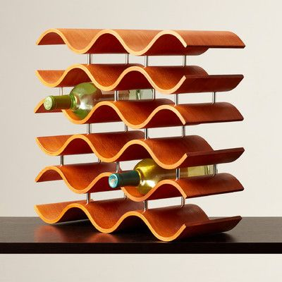 Wade Logan Ernesto 15 Bottle Tabletop Wine Rack