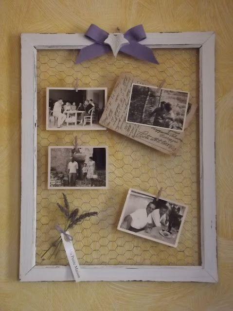 Oltre 25 fantastiche idee su cornici di legno per foto su - Cornici shabby chic fai da te ...