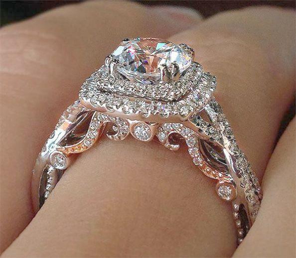 Jewellery Kit Set Provided Diamond Engagement Rings For