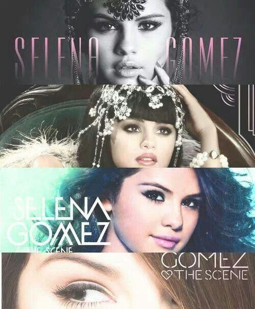 Selena Gomez CD covers