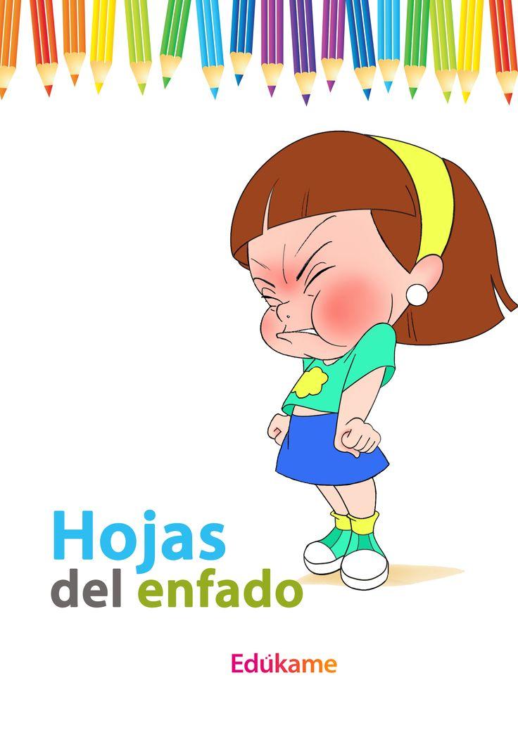 Unas hojas especiales para que el niño utilice como desahogo de su rabieta. Podrá arrugar, pintar, tirar o ensuciar la hoja para canalizar su rabieta. http://edukame.com/node/17058